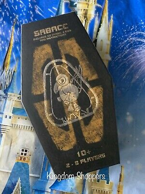 Disney Star Wars Galaxy's Edge SABACC Cards Deck Box Unopened Brand New