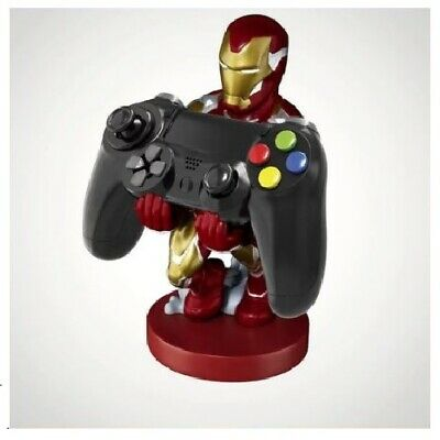 Marvel Iron Man Cable Guy Controller PS4 Xbox One Phone Holder Gaming Figure