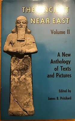 Ancient near East - A New Anthology of Texts and Pictures by Pritchard, James B.