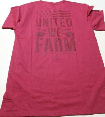 LINCOLN OUTFITTER'S STRONG Men's Graphic Series UNITED WE FARM Large