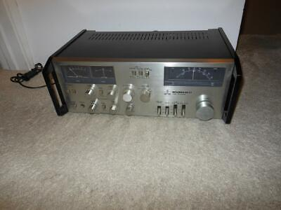 Rare Mitsubishi Da-C7 Tuner Preamplifier Stereo Receiver Fully Functional