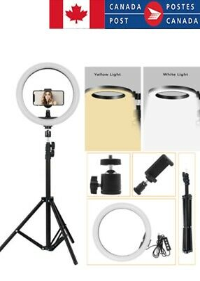 """16"""" 25.5cm LED  Studio Ring Light Photo Video Dimmable Camera&Phone Lamp Light A"""