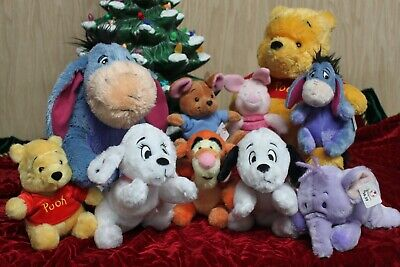 New Disney 2002 Plush Dolls With Tags On