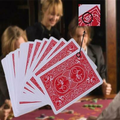 New Secret Marked Poker Card See Through Playing Cards Magic Toys Magic Tricks