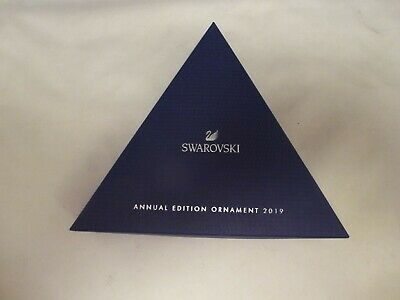 SWAROVSKI CRYSTAL 2019 ANNUAL large OUTER BOX ONLY WITH  PAPERWORK