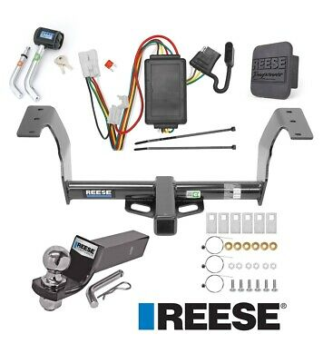 "Reese Trailer Tow Hitch For 14-18 Subaru Forester Deluxe Wiring 2"" Ball & Lock"
