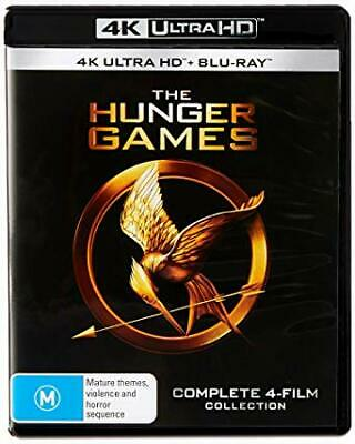 The Hunger Games Complete 4 Film Collection 4K Ultra HD + Blu-ray BRAND NEW