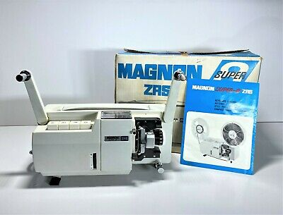 Magnon Zrs Super 8 8Mm Automatic Film Projector | Tested And Working