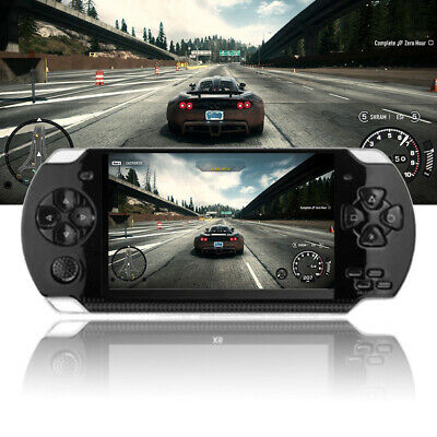 """8G 32 Bit 4.3"""" PSP Portable Handheld Game Console Player 1000 Games mp4 +Cam"""
