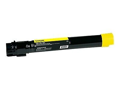 Lexmark X95X YELLOW TONER CARTRIDGE - 22K