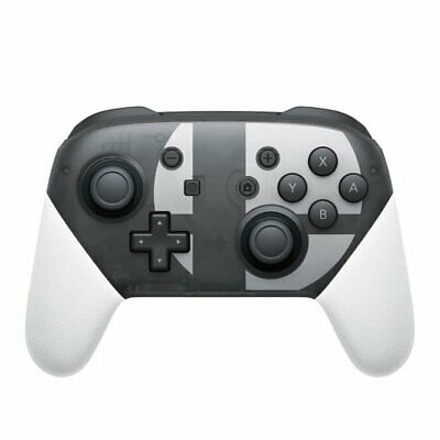 Wireless Bluetooth Pro Controller Gamepad For Switch Super Smash Bros.