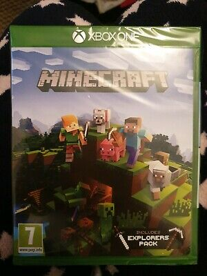 Minecraft Including Explorers Pack Xbox One New