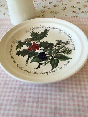 Portmeirion Holly And Ivy Plate