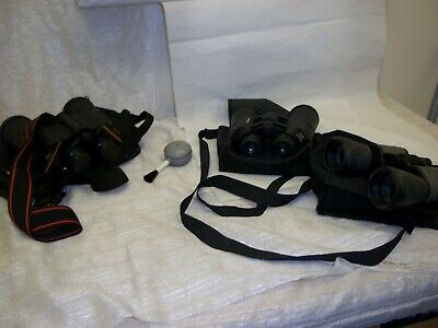 3 Pairs of Binoculars Stag, Golf, Horse Racing               Q-0933-JH-W49