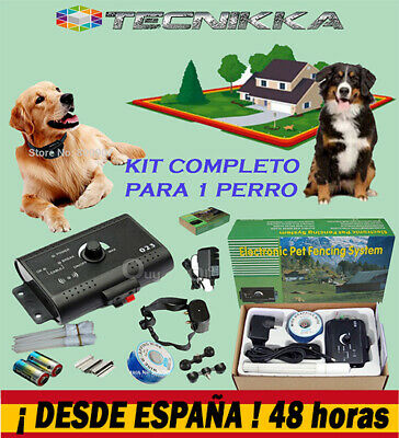Cercado vallado invisible antiescape perros. Barrera invisible antifugas perros