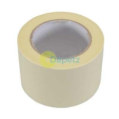 Masking Tape Paint Decorate Craft Label Low Tack Multi-purpose DIY 75mmx50m Roll