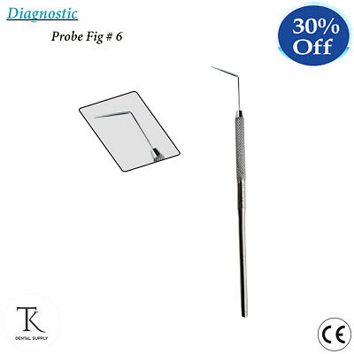 Diagnostic Instruments Dental Probe No.6 Single Ended