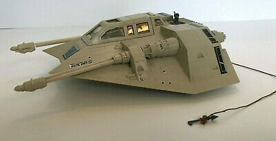 Vintage STAR WARS 1980 snowspeeder WORKS working condition