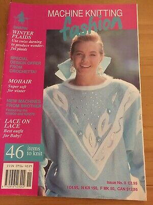 Machine Knitting Magazines x 10, Vintage Includes First Edition