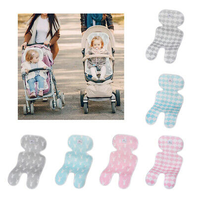 Breathable Head Neck and Body Support Baby Liner Cushion Pad for Stroller