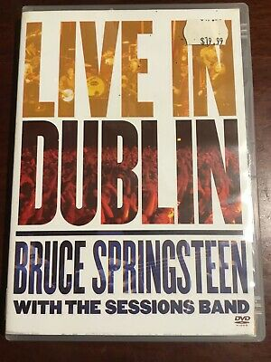 BRUCE SPRINGSTEEN LIVE IN DUBLIN With The Sessions Band Good Condition DVD R All
