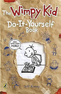 The wimpy kid: do-it-yourself book by Jeff Kinney (Paperback)