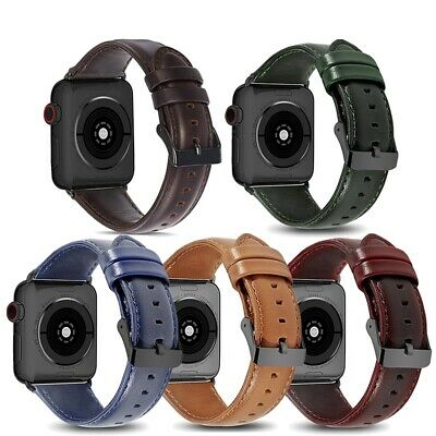 Luxury Leather Strap iWatch 5 Band For Apple Watch Series 5/4/3 38/40MM 42/44MM