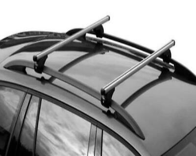 Car Roof Rack Rail Bars Locking Fits Ford Focus Estate 1999-2011 with Open Rails
