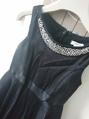 River Island girl shiny Christmas party ocassion dress 6 years worn once