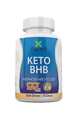 Keto BHB Diet Pills - Extra Strong Ketogenic Fat Burning For Rapid Weight Loss