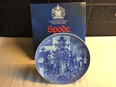 **Spode Decorating The Tree** Lovely Christmas Present, The Blue Room Collection