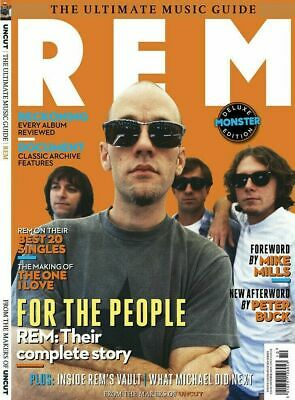 REM - Uncut Ultimate Music Guide (New Magazine October 2019) NOBARCODE