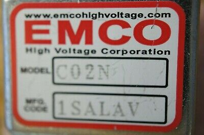 EMCO C02N  High Voltage DC/DC Converter, C02 Series