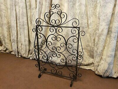 Wrought Iron Fire Guard Used