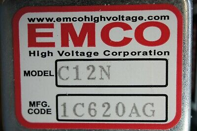 EMCO C12N  High Voltage DC/DC Converter, C12 Series