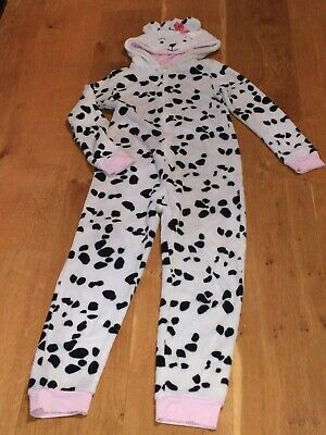 Dalmation dog pjyamas all in one dress up for child 13 years old. John Lewis