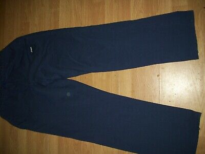 Oasics men's navy blue sports trousers /joggers.Size  XX Large.