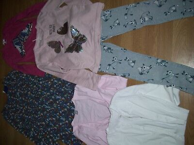 Sale! Girls bundle of winter clothing. Age 7/8 years.Dress, tops, jeans.Bargain