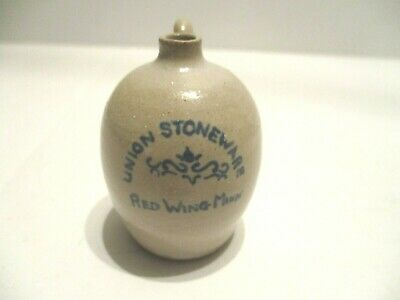 Miniature Gray Hand Crafted Clay Pottery One Handled Jug   #2