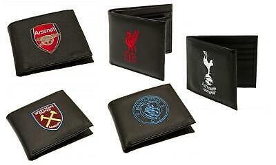 Football Club Team Embroidered Crest Leather  Wallet
