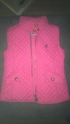 Joules Girls Gillet - Size 5 Years - Pink - Great condition