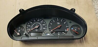 BMW E36 M3 3.2 evo manual speedo instrument cluster only has 23k miles