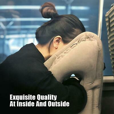 Travel Inflatable Pillow Portable Sleeping Lunch Office Outdoor Neck Pillow 5QQ3