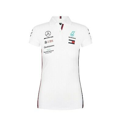 Mercedes AMG Petronas Motorsport 2019 F1™  WOMEN's  Polo Shirt White OFFICIAL