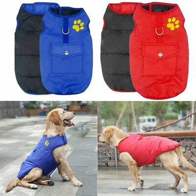 Winter Small Pet Dog Cat Hoodie Down Jacket Puppy Warm Coat Waterproof Clothes