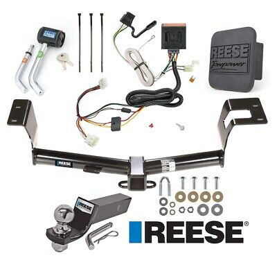 "Reese Trailer Tow Hitch For 12-16 Honda CR-V Deluxe Wiring 2"" Ball and Lock"