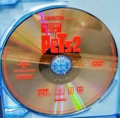 The Secret Life Of Pets 2 Dvd Disc Only