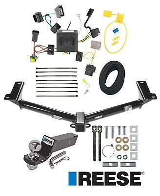 Reese Trailer Tow Hitch For 11-20 Dodge Journey w/LED Taillights Wiring and Ball