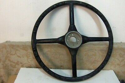 """NOS EXCELOID 22"""" Alloy base VINTAGE CLASSIC TRUCK BUS STEERING WHEEL # 5213460"""