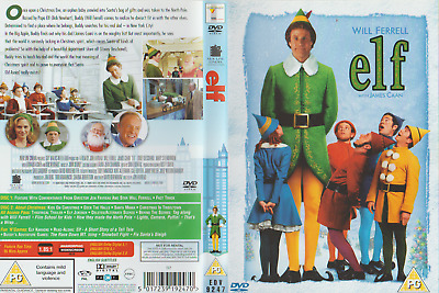 Will Ferrell - Elf - With James Caan - Brilliant 2 Disc Dvd - 5017239192470
